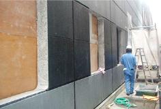 コンクリート壁の開口あけ